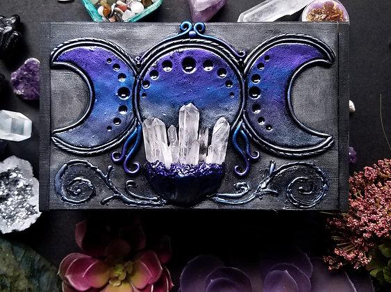 Purple Moon Goddess (L Box)