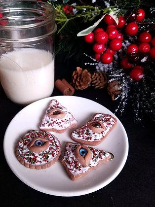 Seeing Eye Cookie Ornaments