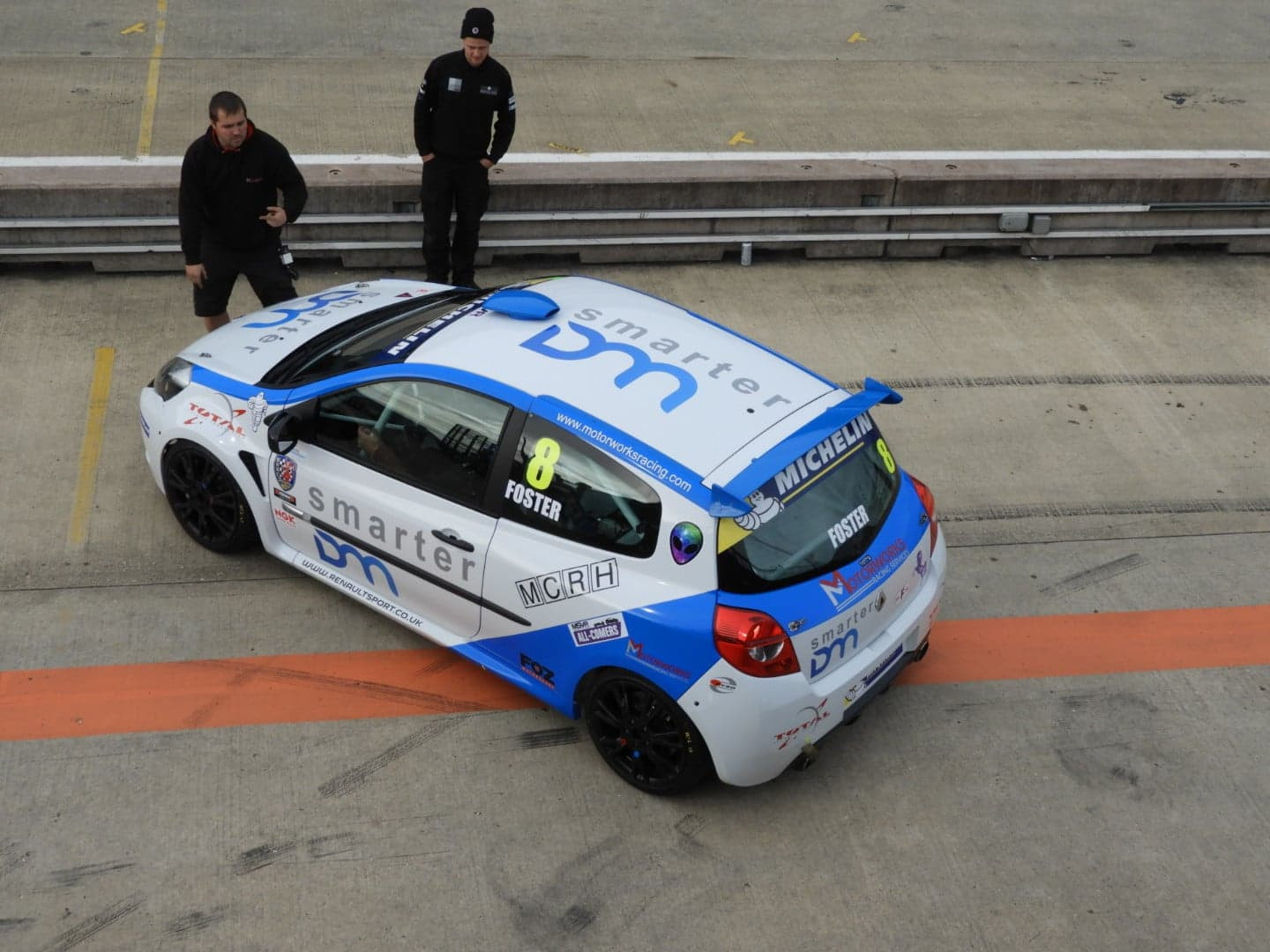Gen3 Clio Cup at Rockingham