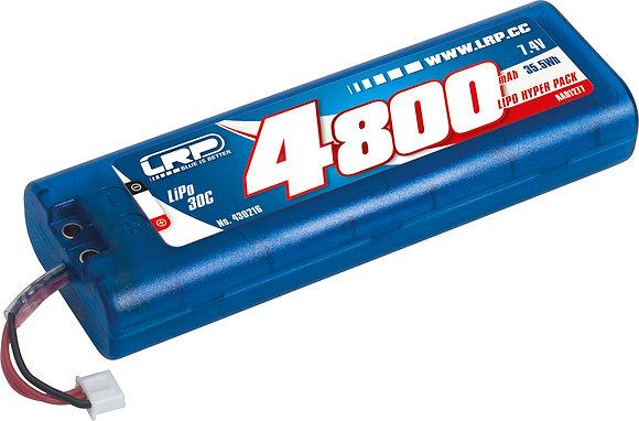 LRP LiPo HyperPack 4800mAh -7.4V -30C -MultiPlug