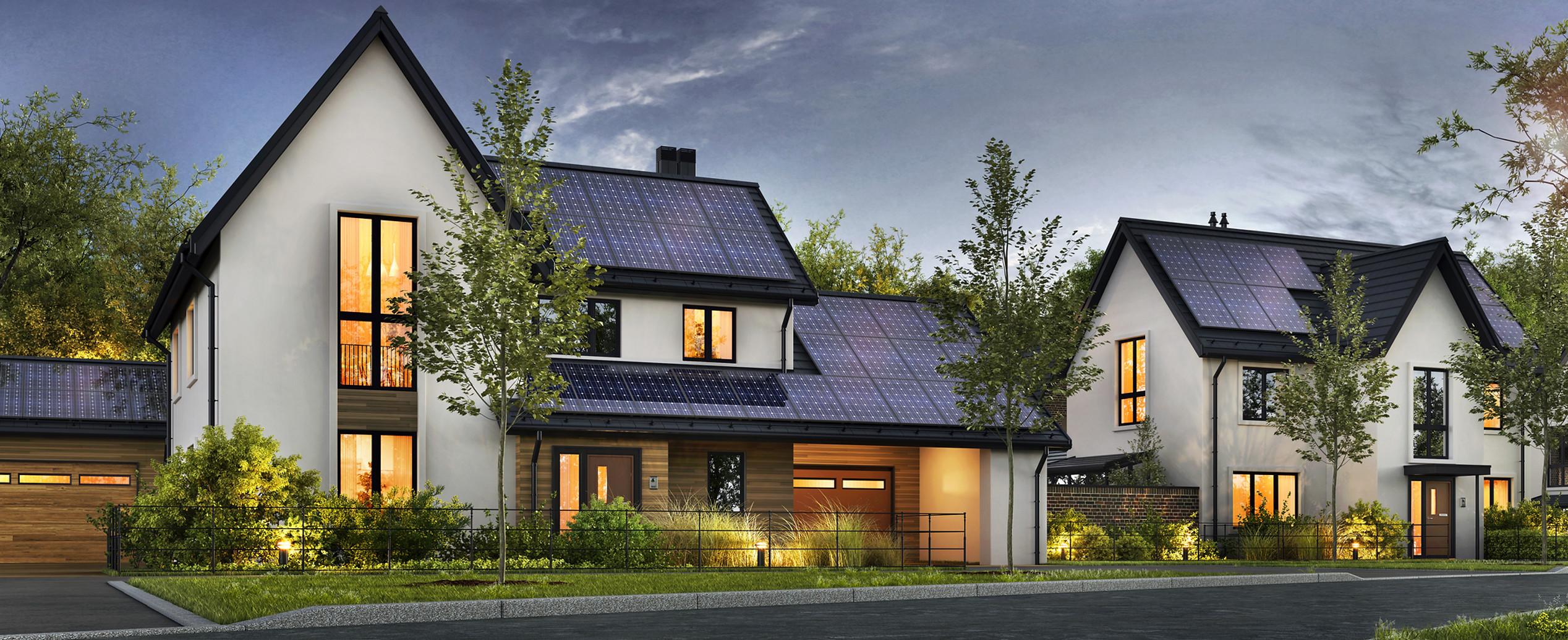 Savant Energy Large Solar Power Home