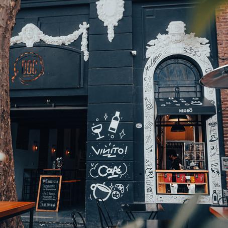 DOC Bar de Vinos, en alianza con Negro, instalan un nuevo kiosco de café de especialidad en Palermo