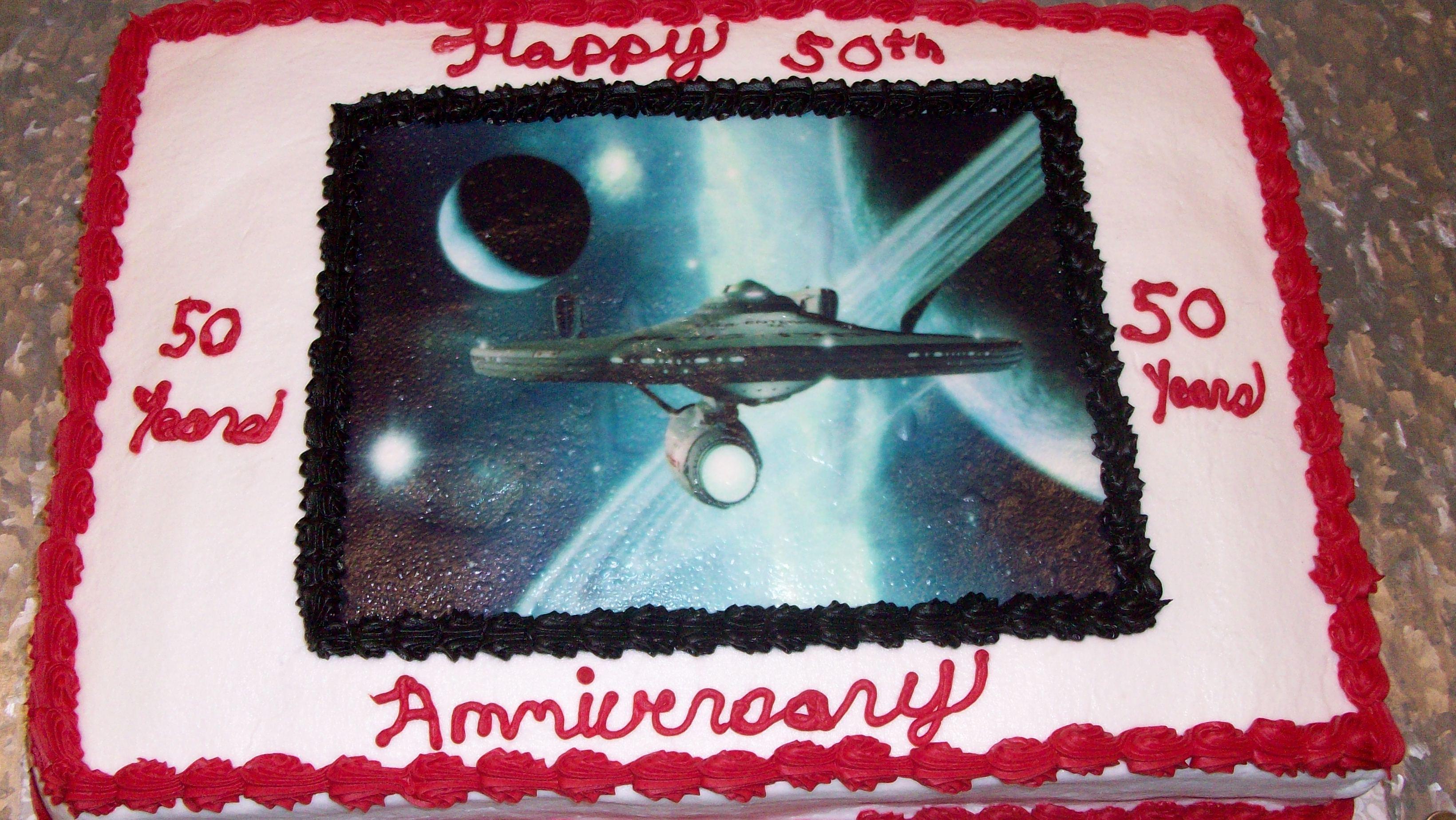 Trek Birthday Cake