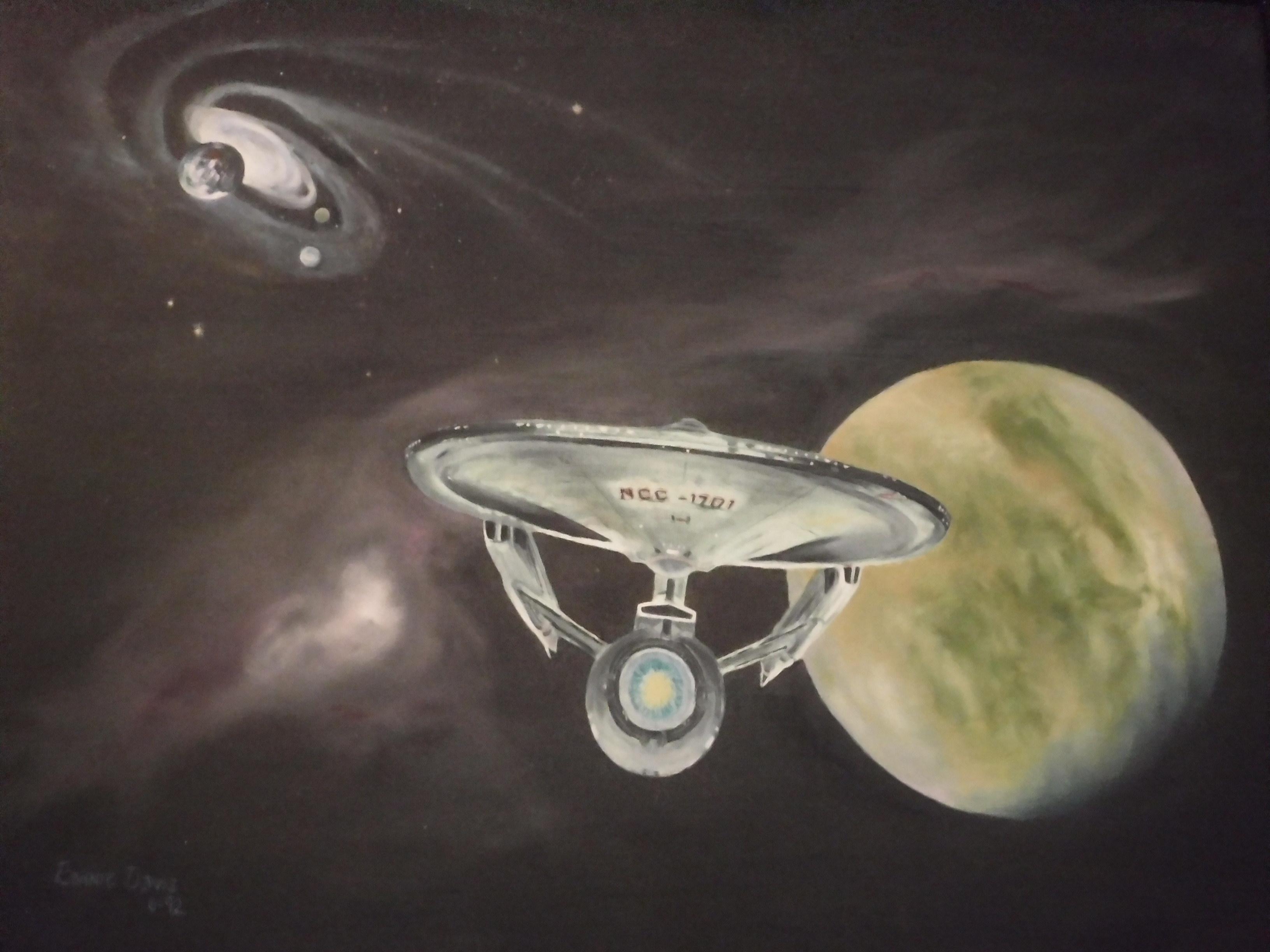 Painting by Member Bonnie Davis