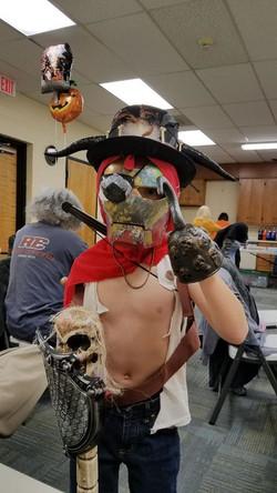 october 14, 2019 - Pirate Man