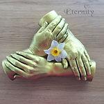 Family hand cast
