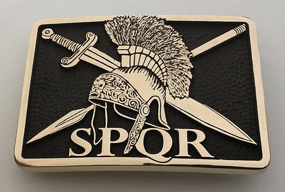 SPQR Roman Soldier Buckle