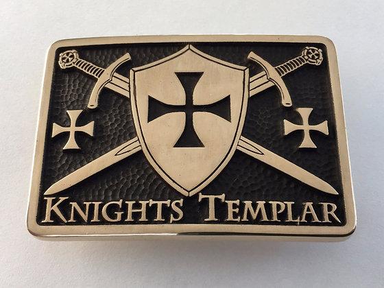 Knights Templar Buckle