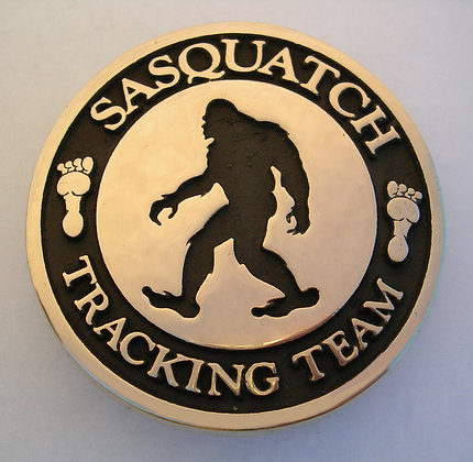 Sasquatch Tracking Team buckle