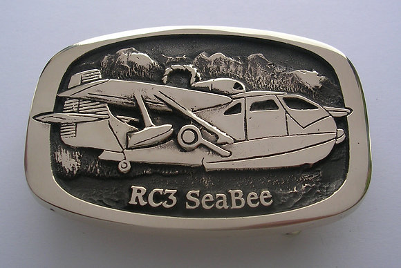 SeaBee Airplane Buckle