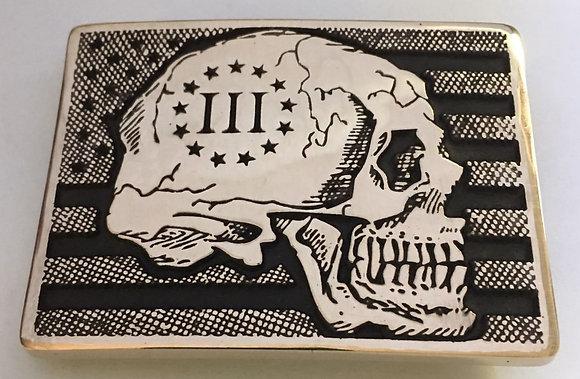 III% Death Card Buckle
