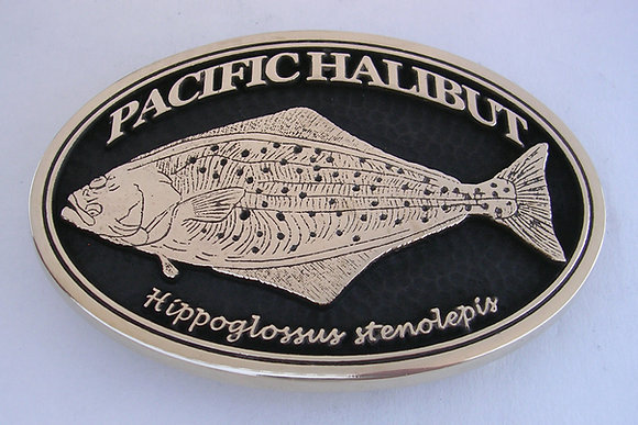 Pacific Halibut Buckle