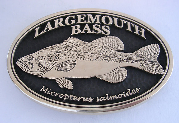Largemouth Bass Buckle
