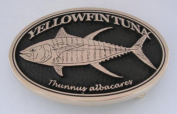 Yellowfin Tuna Buckle