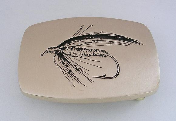 Sweeny Todd - Fly Fishing Buckle