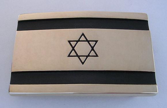 Israel Flag Belt Buckle