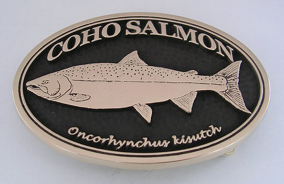 Coho Salmon Buckle