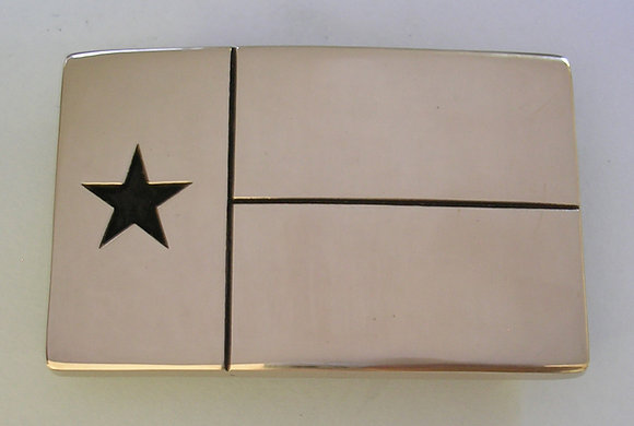 Texas Flag Belt Buckle