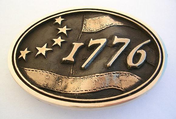 1776 Betsy Ross - American Flag Belt Buckle