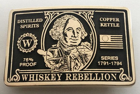 Whiskey Rebellion George Washington Buckle