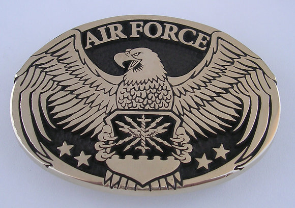 Air Force Eagle Belt Buckle