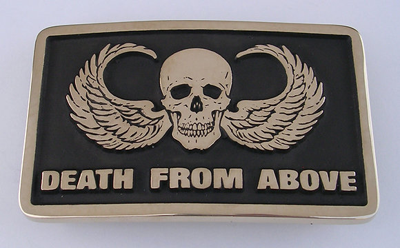 Death from Above Belt Buckle