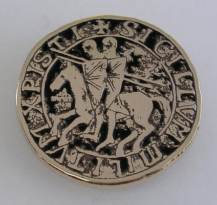 Knights of the Templar Seal Buckle