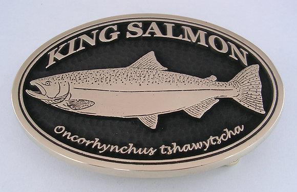 King Salmon Buckle
