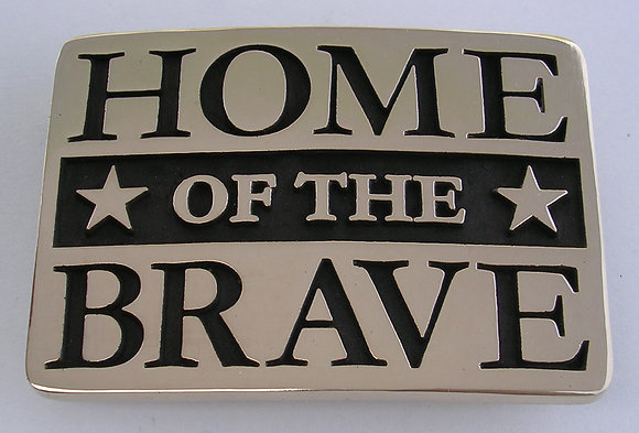 Home of the Brave Buckle