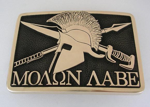 Molon Labe Buckle