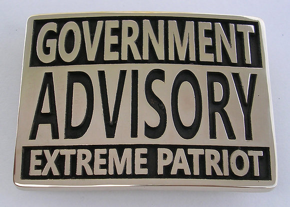 Extreme Patriot Buckle