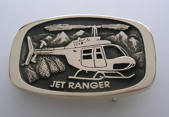Jet Ranger Helicopter Buckle
