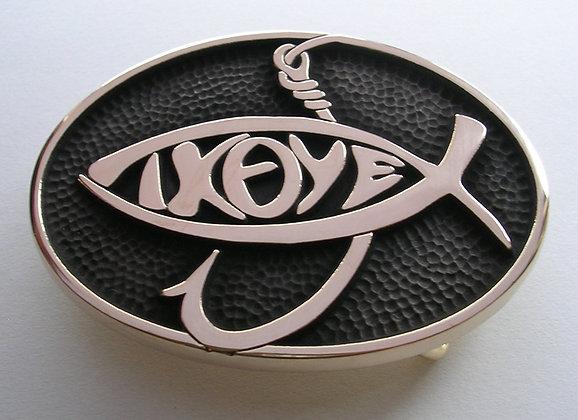 Jesus Fish Belt Buckle - IXOYE