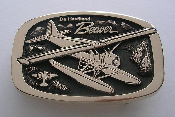 De Havilland Beaver Airplane TV Buckle