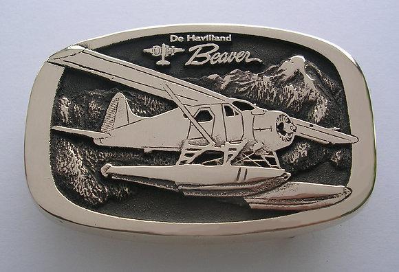 De Havilland Beaver Airplane BV Buckle