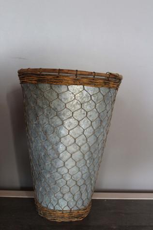 Vase zinc 3 €