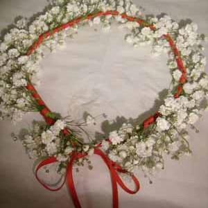 Fleurs mariage - Courronne