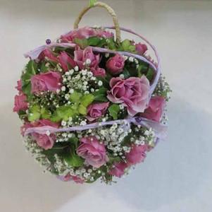Fleurs mariage - Bouquet aumoniere