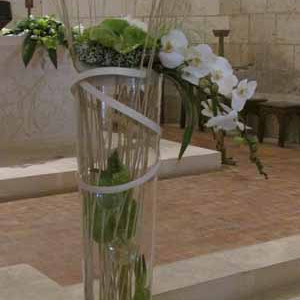Fleurs mariage - composition mariage