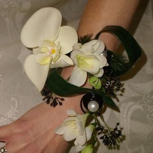 Fleurs mariage - Bracelet mariée