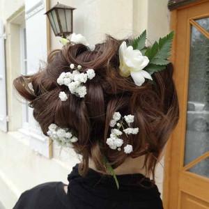 Fleurs mariage - Fleurs cheveux