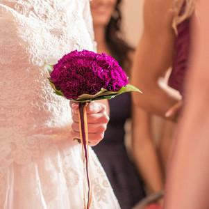 Fleurs mariage inspiration Rose