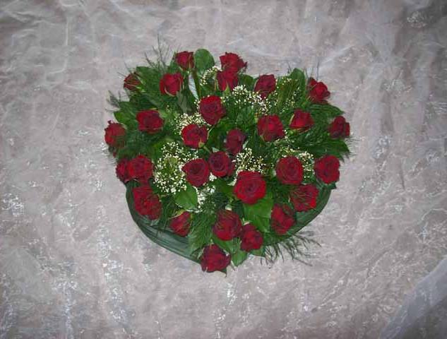 Fleurs Décès - roses