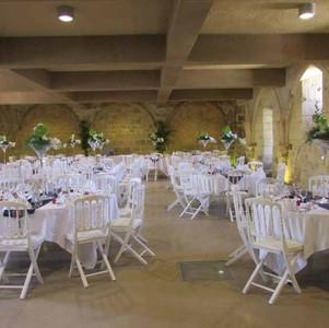 Fleurs mariage - salle de réception