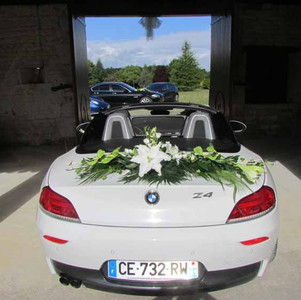Fleurs mariage - Voiture mariage