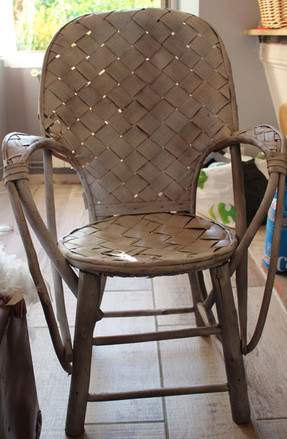 fauteuil osier 8 €
