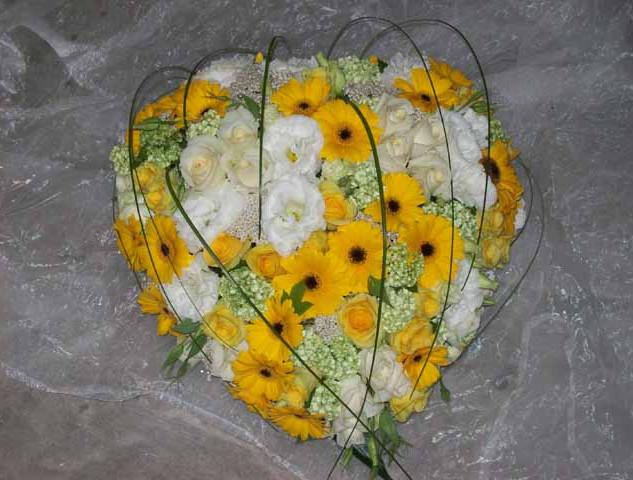 Fleurs pour le décès
