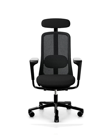 Sofi Mesh with Headrest | Leather on seat
