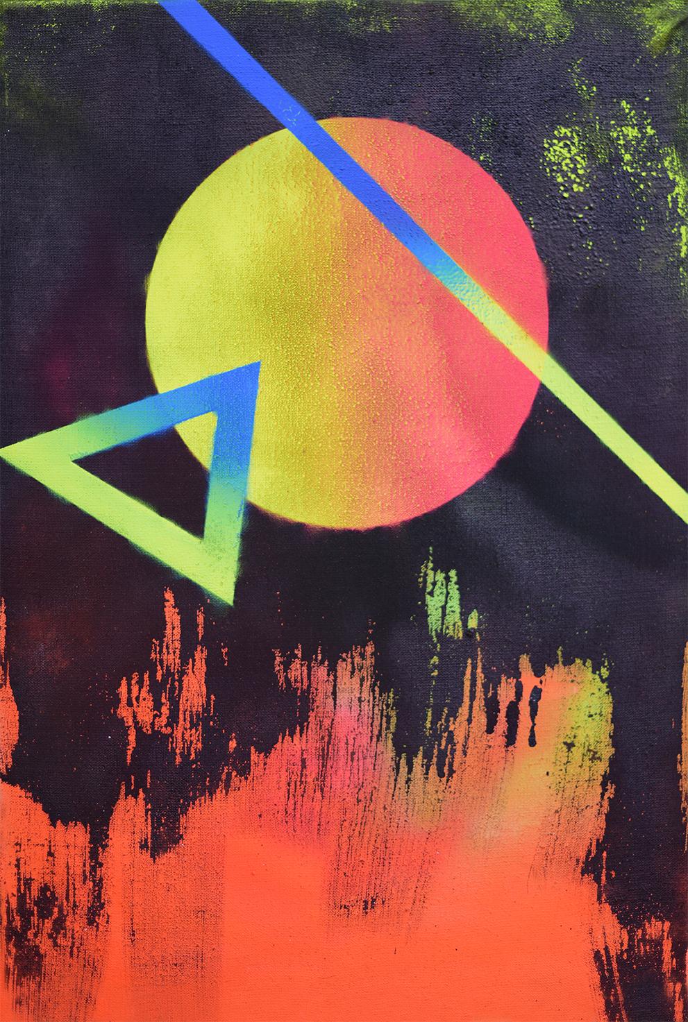 """Mars"" 70x50cm 2016"