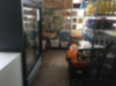 Decorah Food Pantry Shopping Area